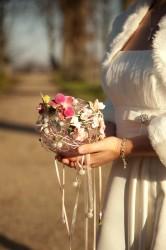 Brautstrauß Kugel